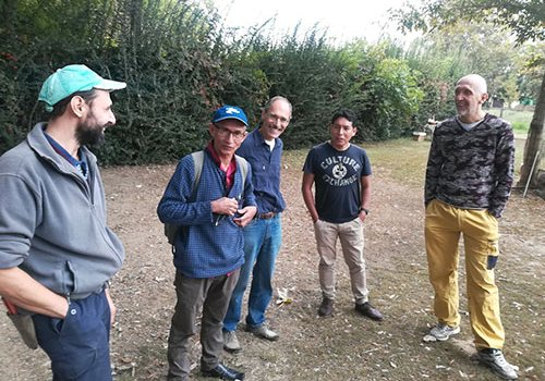 La visita di Virgilio ed Esaù all'Azienda Agricola S. Antonio Abate