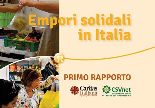 Pubblicato il 1° rapporto sugli Empori solidali in Italia